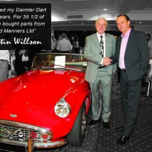 David Manners with Quentin Willson