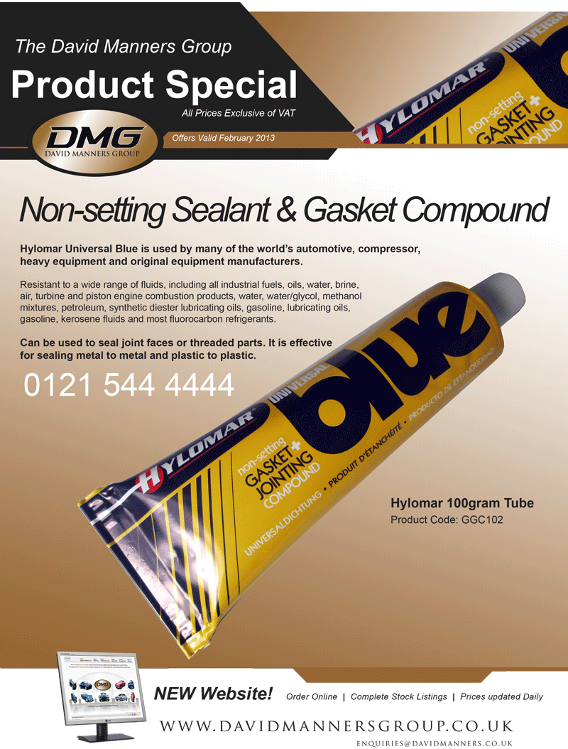 Non-setting Sealant & Gasket Compound