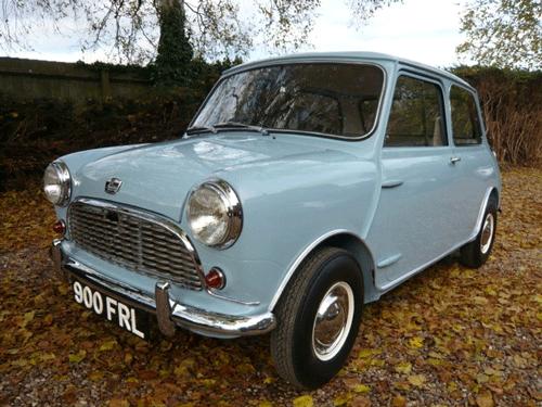 Quentin Wilson, Classic Mini, Mini Spares Midlands