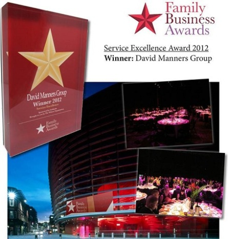 David Manners Group Service Excellence Award