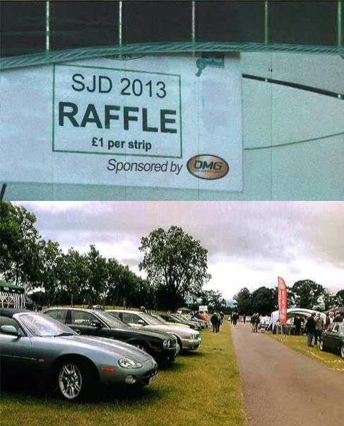 David Manners Group Sponsor Scottish Jaguar Day
