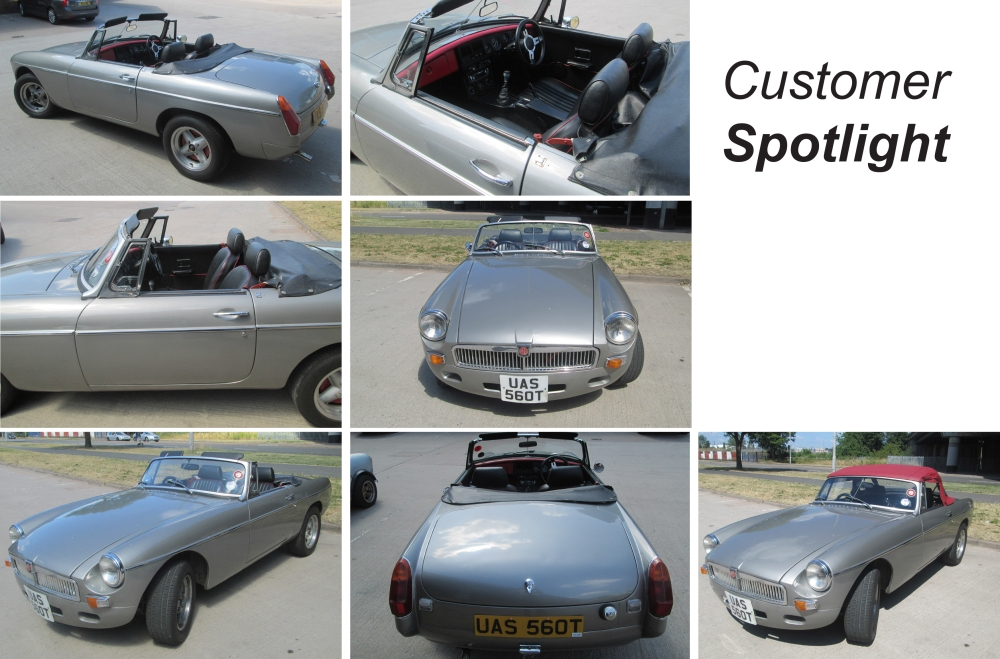 MGB Roadster, David Manners Group, MGB Parts
