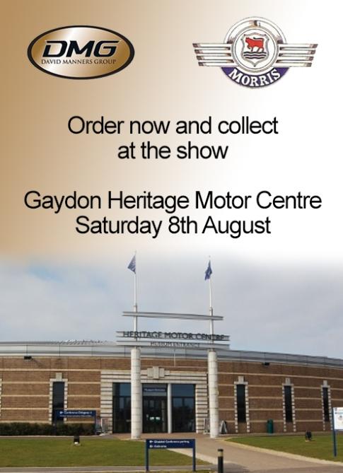 Morris Minor celebration at the Heritage Motor Centre in Gaydon