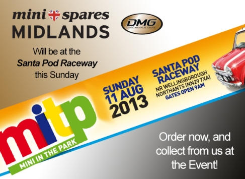 Mini Spares Midlands at the Mini In The Park at Santa Pod Raceway