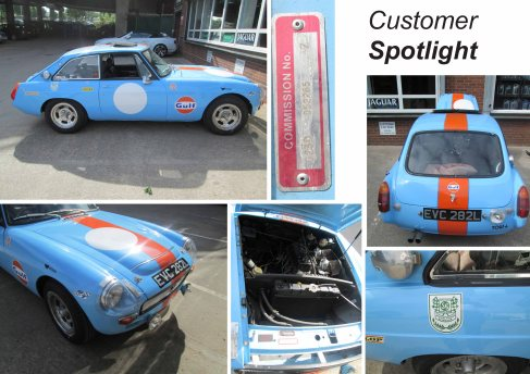 MGB Barn Find Racing Car Mystery