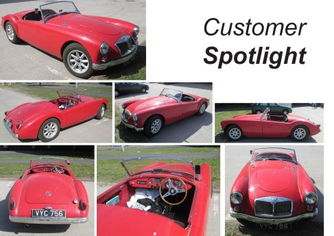 1956 MGA: One of the first 2000 ever built