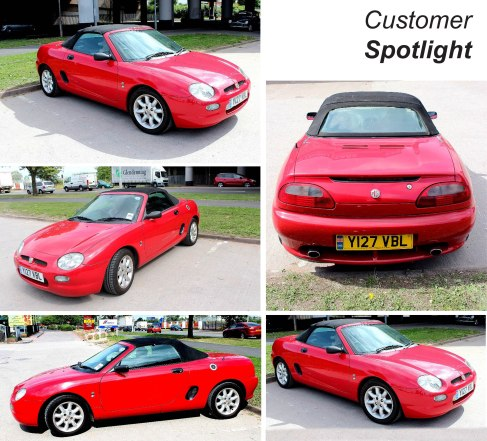 RED MGF Makes our Customer Spotlight Section