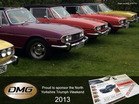 North Yorkshire Triumph Car Weekend