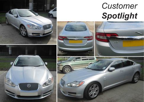 Jaguar XF becomes David Manners Group Pin Up