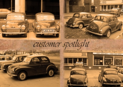 1967 & 1968 Morris Minor's at the David Manners Group