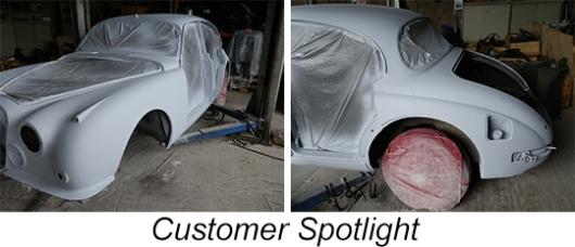 Jaguar MKII Austrian Restoration Project