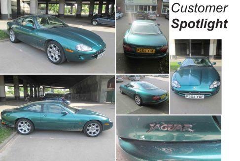 Near Perfect 1996 Jaguar XK8 at the David Manners Group