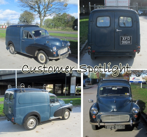 Morris Minor Commercial Workhorse