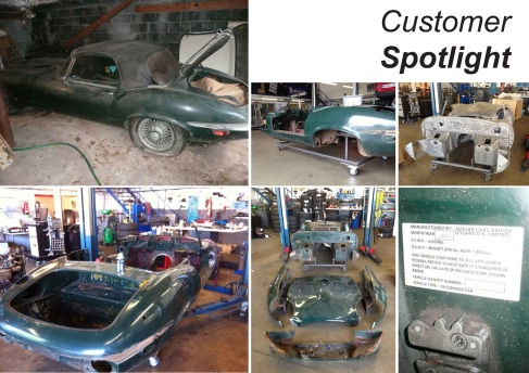 Polish E-Type Restoration Project