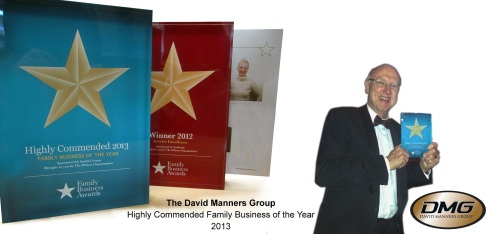 The David Manners Group  -  Highly Commended Family Business of the Year 2013