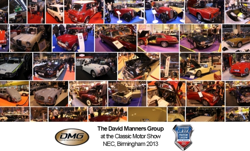 The David Manners Group at Classic Motor Show 2013