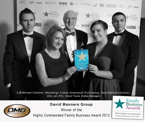 DMG Triumph at the Family Business Awards 2013