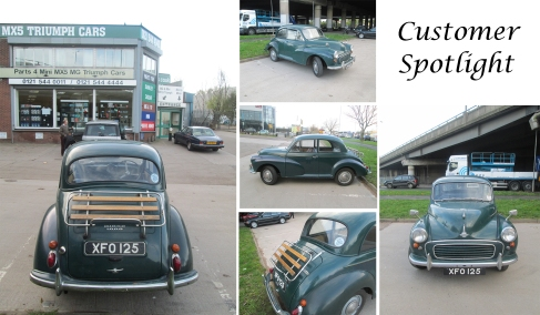 Morris Minor 1000 at the David Manners Group