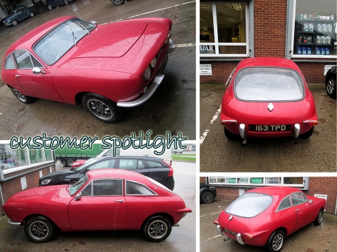 Red 'Ogle' Car 5/60 off the Production Line