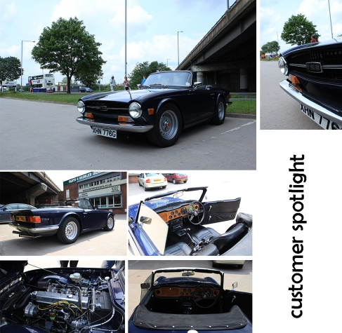 Immaculate show stopping Triumph TR6