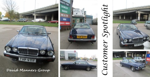 1982 Jaguar XJ6 at the David Manners Group