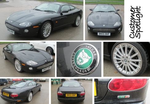 2006 Jaguar XKR at the David Manners Group