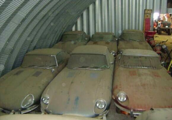 Incredible Jaguar E Type Barn Find Or Hoax