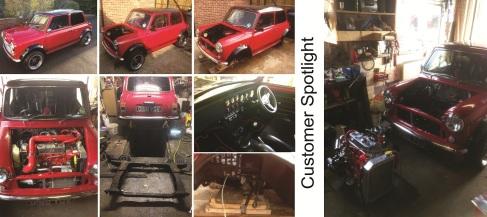 1989 Classic Mini Restoration Project