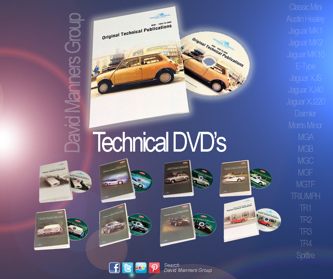 New Range of Parts DVD's from DMG | David Manners Group