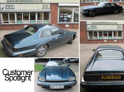 1995 Jaguar XJS at the David Manners Group