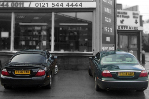 Jaguar S-Type Sport 3.0 & Jaguar S-Type