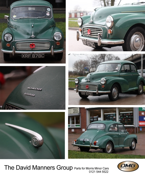 1965 Morris Minor 1000 at the David Manners Group