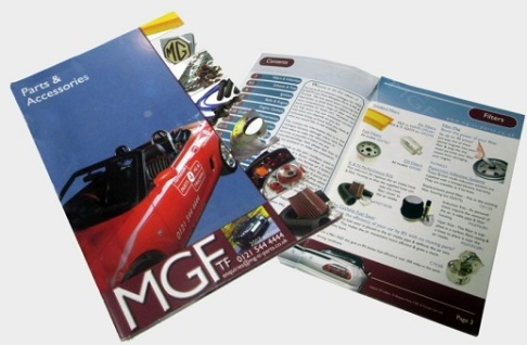 MGF & MGTF Catalogue PDF now available for download