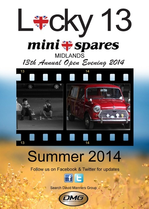 Mini Spares Midlands 13th Annual Open Evening