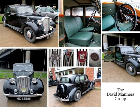 1940's Rover 75 at the David Manners Group