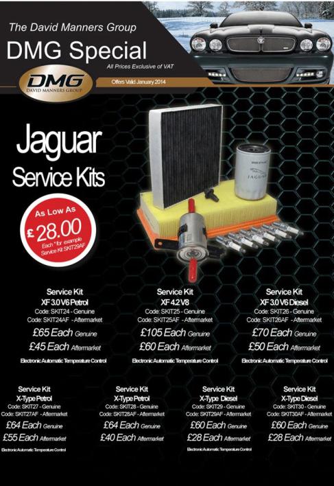 Jaguar Service Kits