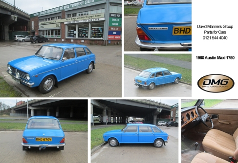 1980 Austin Maxi 1750 in Pageant Blue