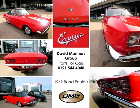 Rare 1969 Bond Equipe 2 Litre Convertible at DMG