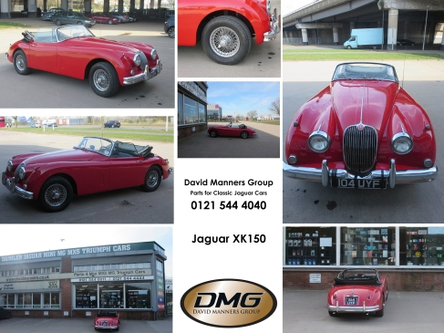 Jaguar XK150 at the David Manners Group