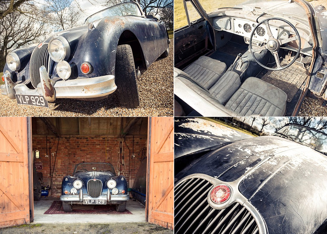 67th Jaguar XK150 Built Uncovered In A Barn
