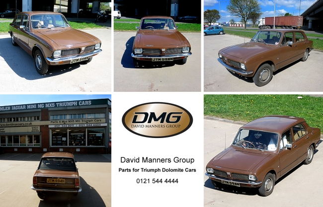 1974 Triumph Dolomite at the David Manners Group
