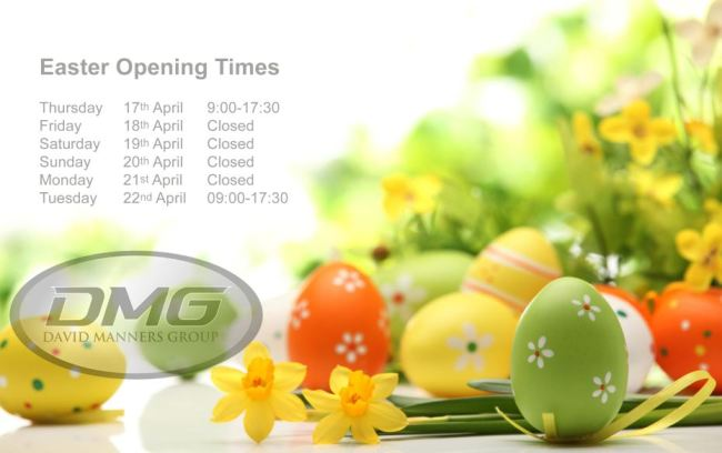 David Manners Group Easter Opening Times