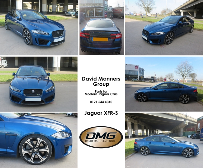 Jaguar XFR-S at the David Manners Group