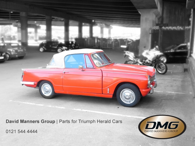 1971 Triumph Herald Restoration Project