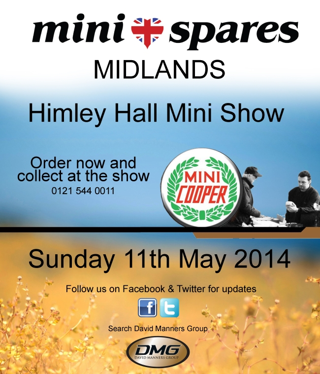 Mini Spares Midlands at the Himley Hall Mini Show 2014