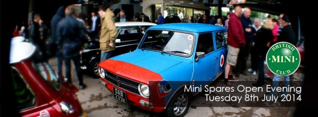 Annual Mini Spares Midlands Open Evening 2014