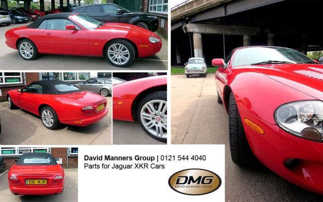 Stunning Fire Engine Red Jaguar XKR at DMG