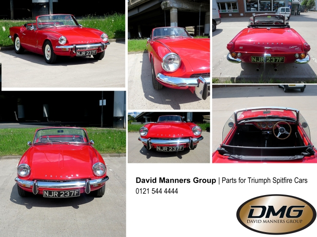 1967 Triumph Spitfire MK3 at the David Manners Group