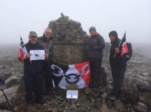 Ian Austin local charities Ben Nevis summit