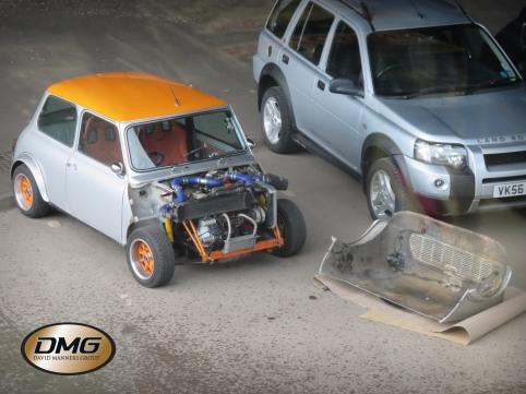 Orange Silver Mini